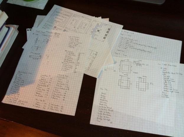 Garland's Quest brainstorming work. :)